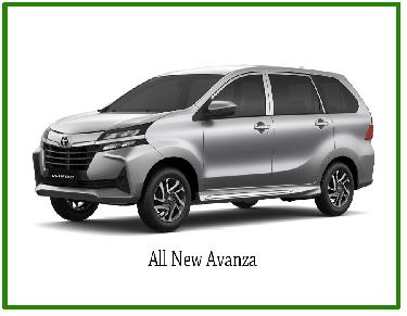 SEWA ALL NEW AVANZA - TAHUN 2020